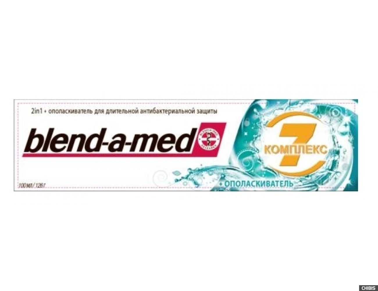 Зубная паста Blend-a-med Complex 7 + ополаскиватель 100 мл.(5410076260904)