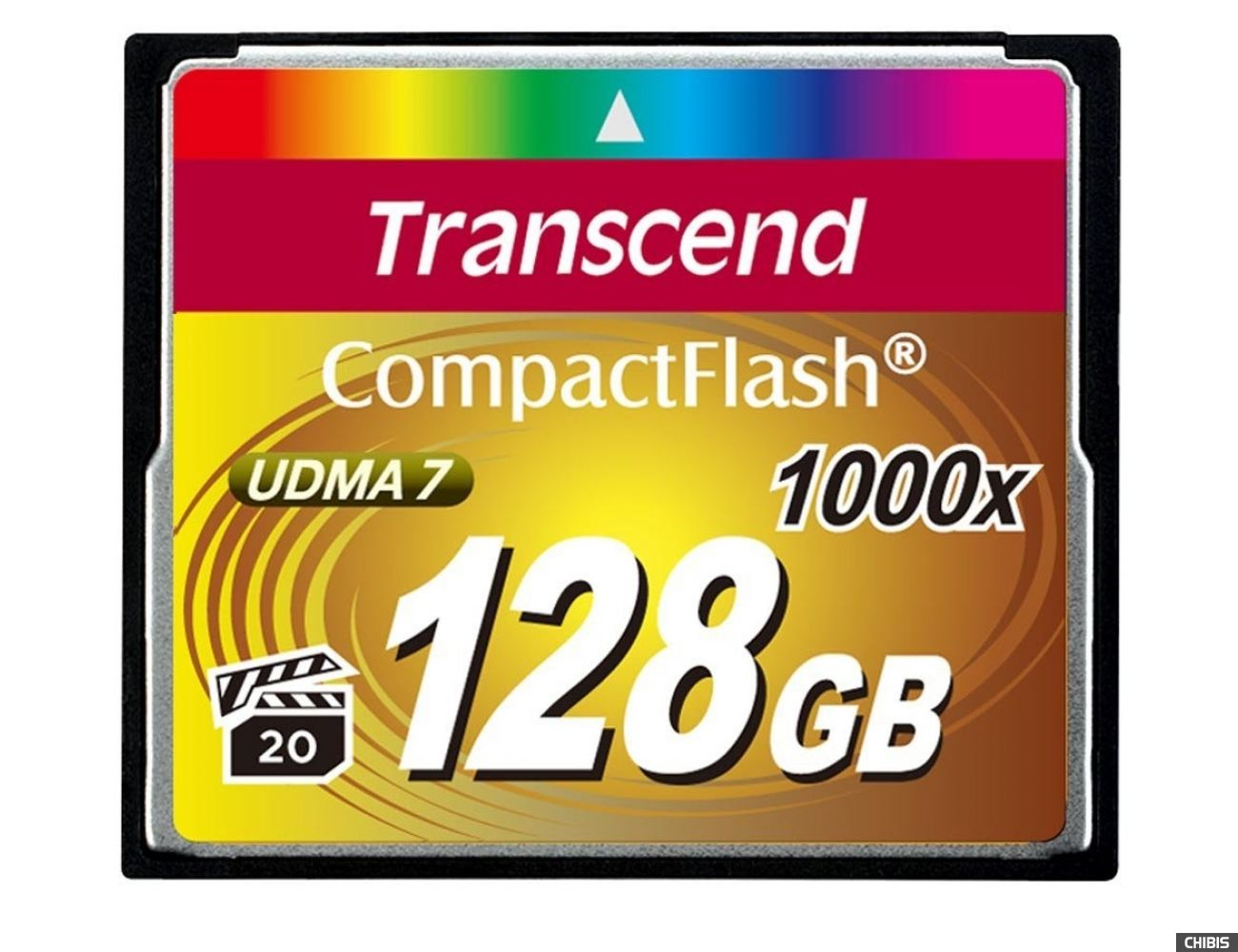 Карта памяти Transcend Compact Flash 1000x 128Gb