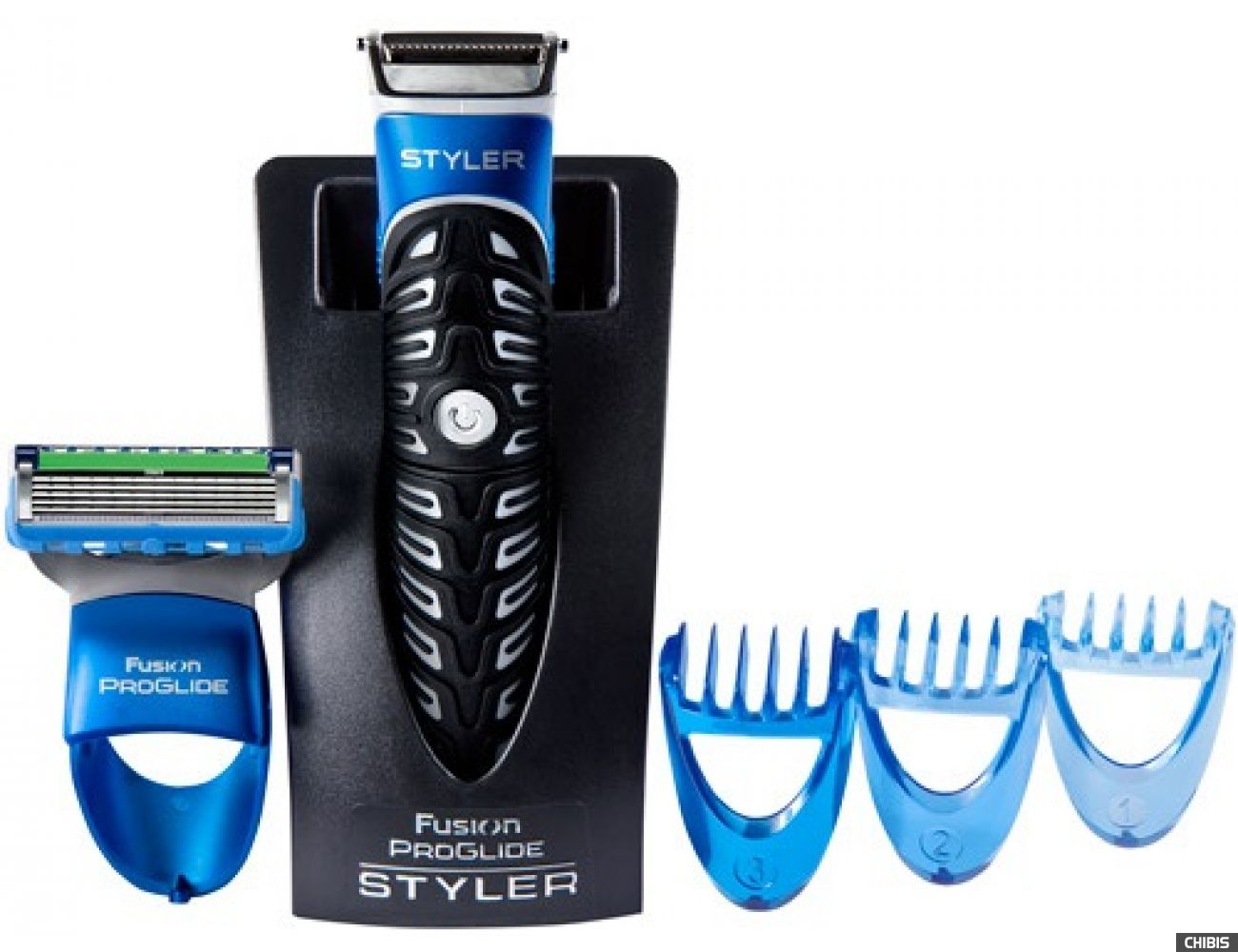 Gillette Styler Fusion ProGlide Power триммер для бороды и усов 7702018273386