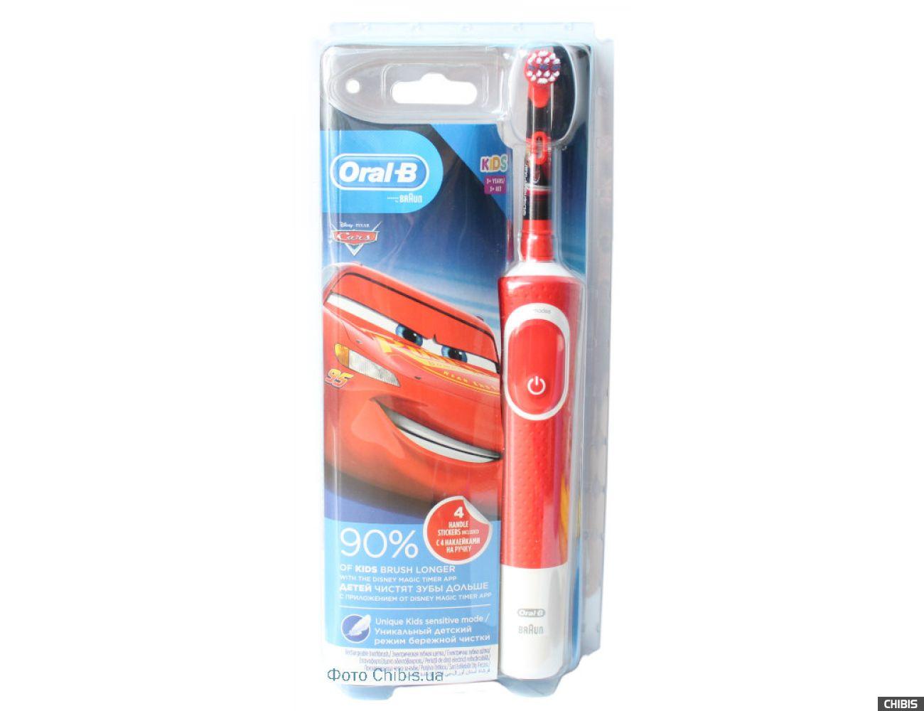 Электрическая щетка Oral B Braun Stages Power D100.413.2K Cars тип 3710 4210201244554
