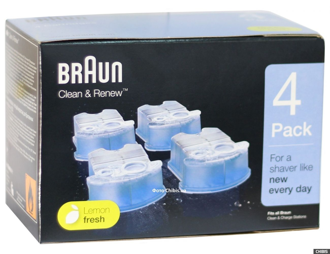 Картридж Braun CCR4 Clean Renew с чистящей жидкостью