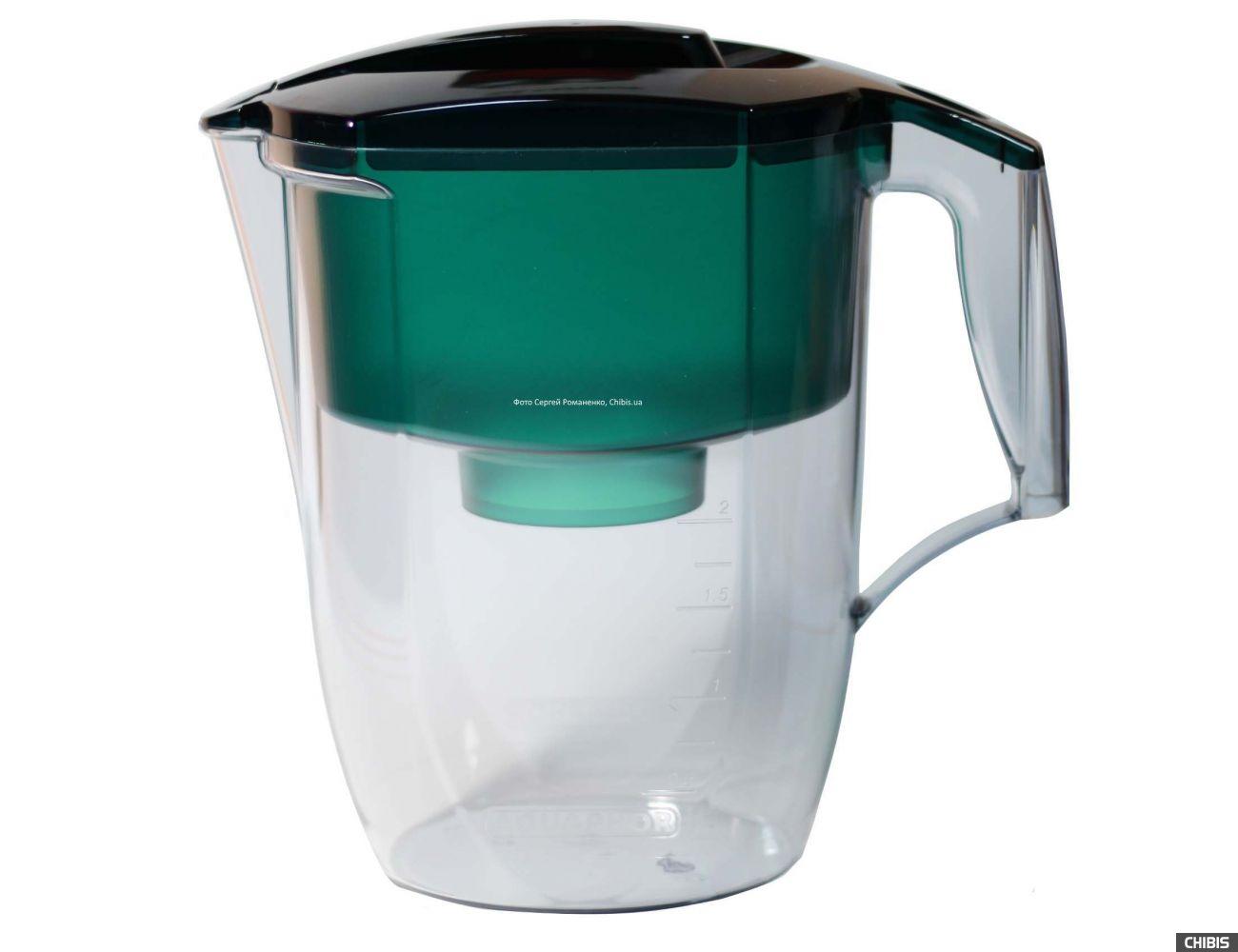Фильтр-кувшин для воды Аквафор Океан 3.9 л (зеленый)