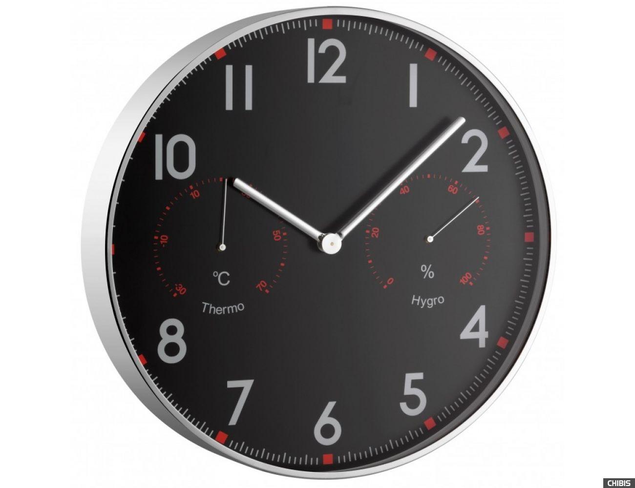 Часы настенные TFA (603004) с термометром и гигрометром