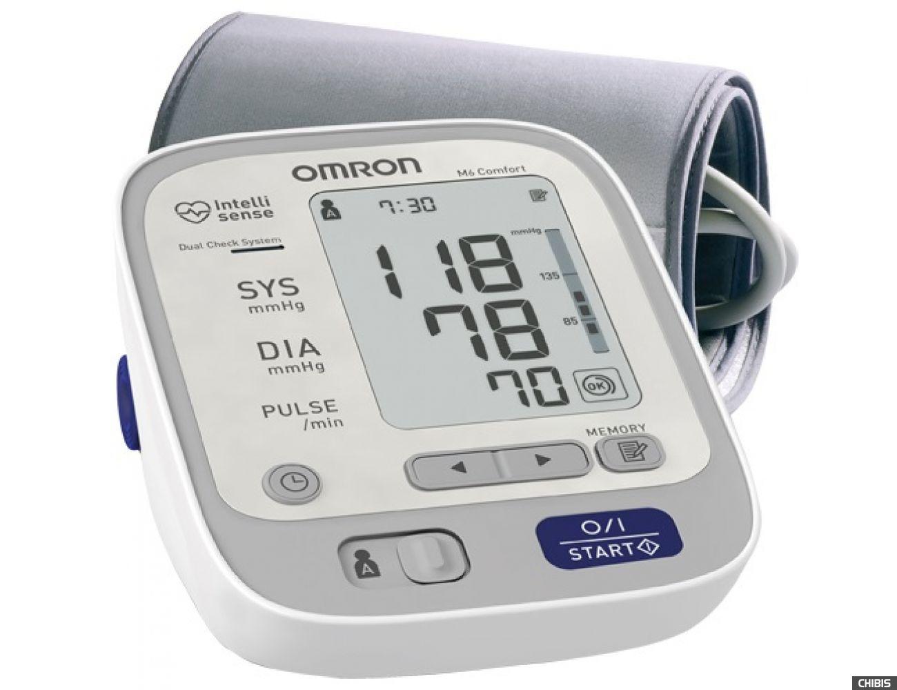 Тонометр Omron M6 Comfort ARU