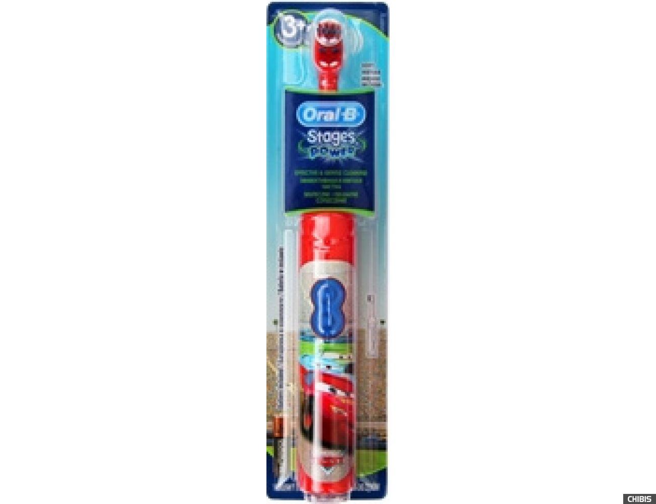 Электрическая зубная щетка Oral B Braun Stages Power машинки (DB3010)