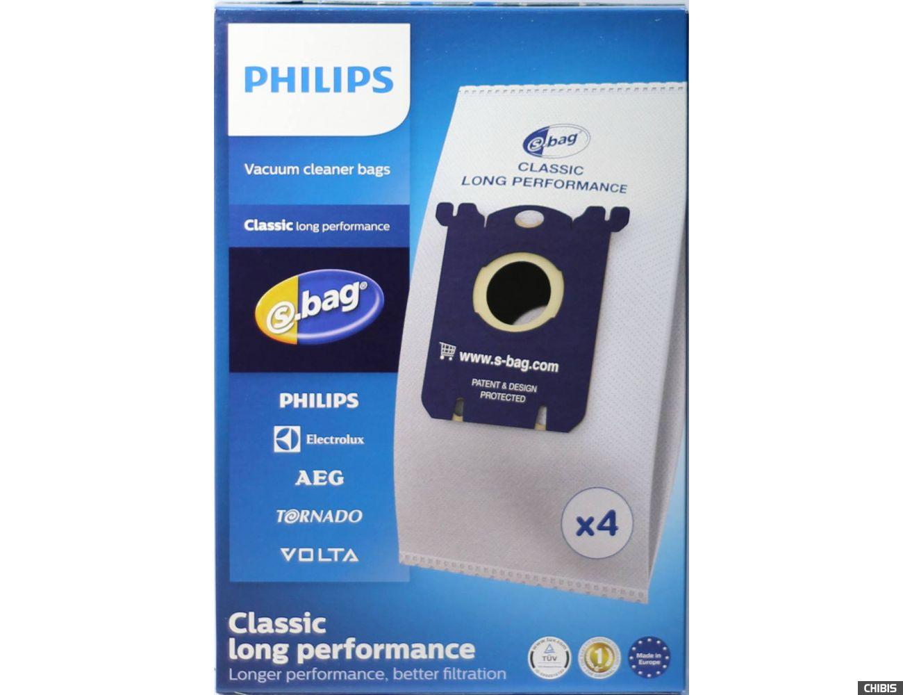 Мешок для сбора пыли Philips FC 8021/03 упаковка из 4-х шт.