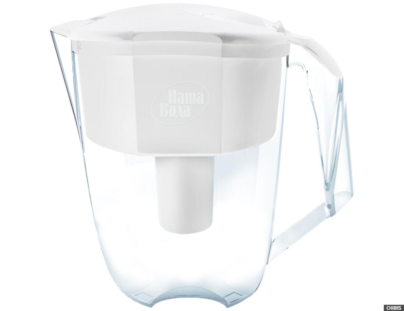 Фильтр-кувшин Наша Вода XL Solo белый