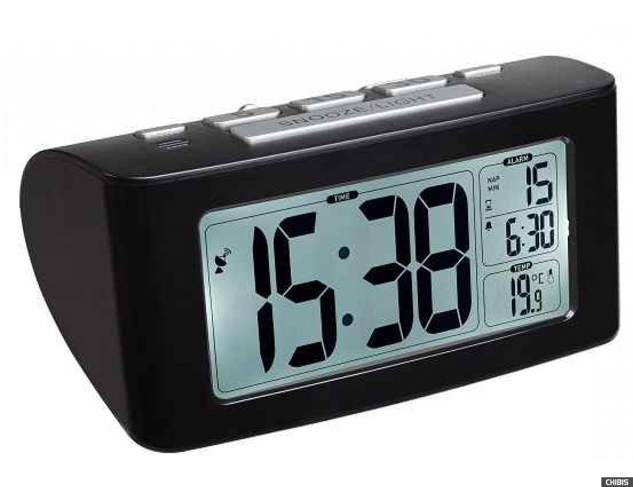 Настольные часы TFA Siesta 60253201 с подсветкой