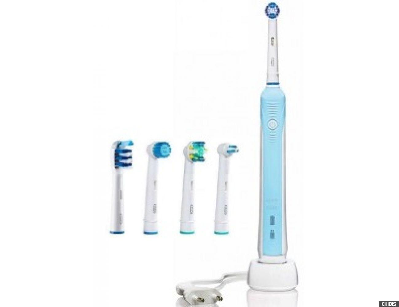 Электрическая зубная щетка Oral B Braun Professional Care 500 5 насадок
