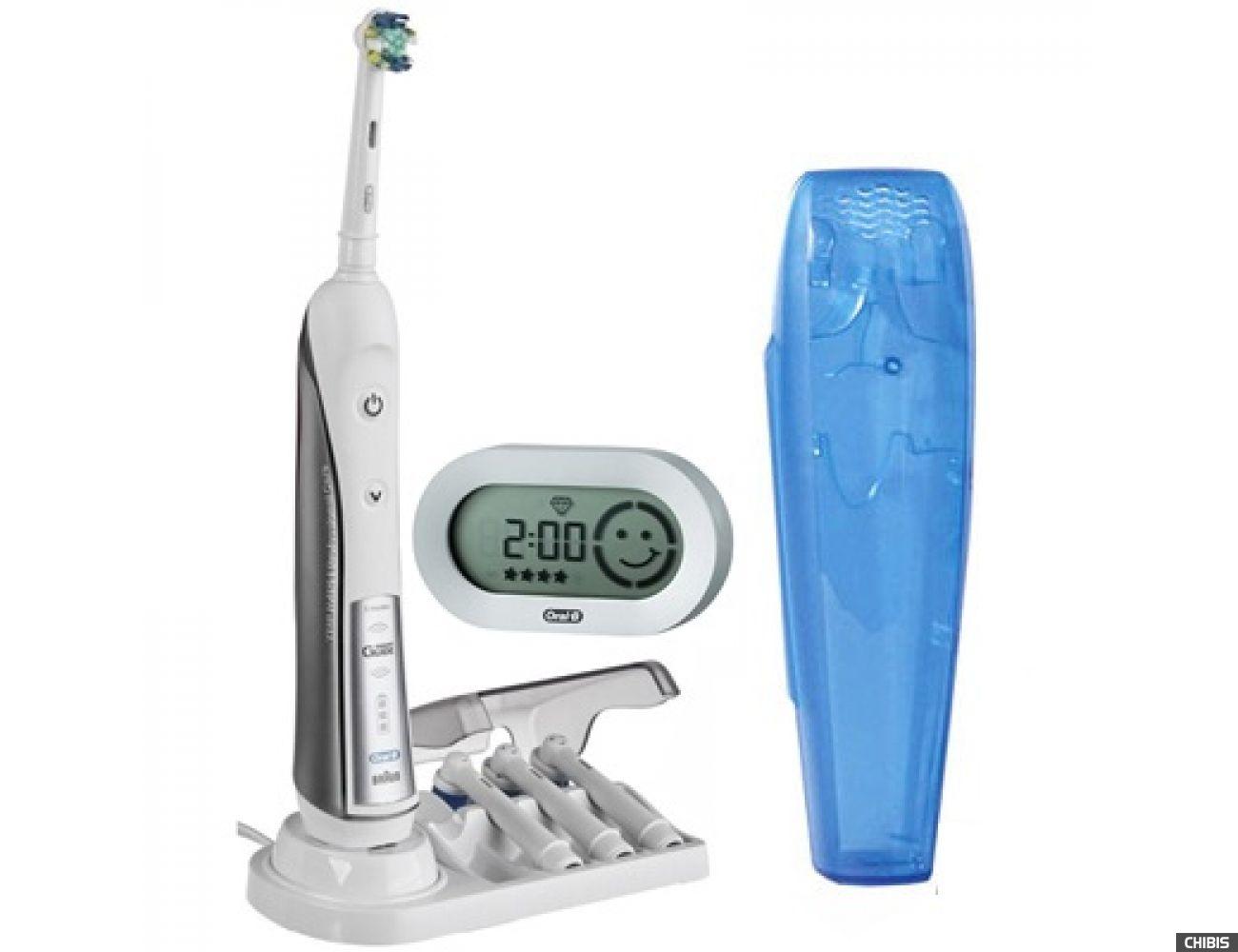 Зубная щетка Braun Oral-B Professional Care 5000 Triumph D34.575.5X тип 3757 (4210201028895) 7 нас.