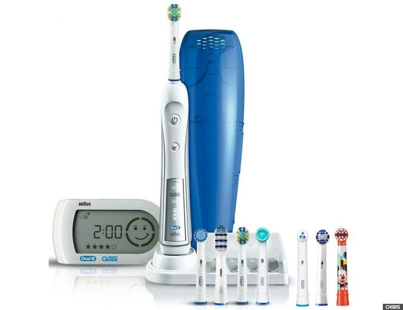 Электрическая зубная щетка Oral B Braun Professional Care 5000 Triumph Trizone D34.575.5x 7 нас