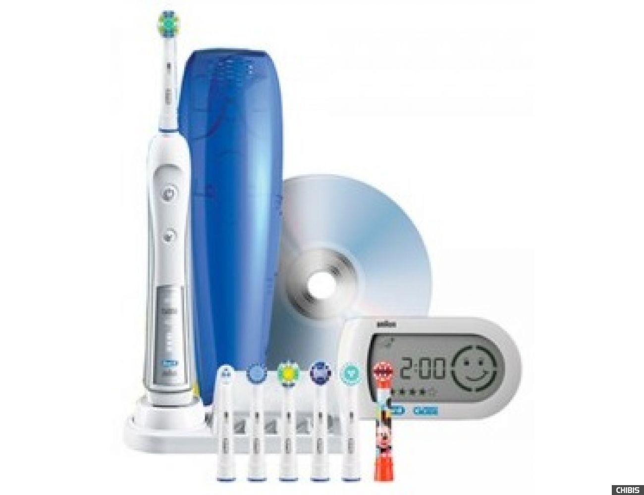 Электрическая зубная щетка Oral B Braun Professional Care 5000 Triumph D34.575.5X тип 3757 7 н.