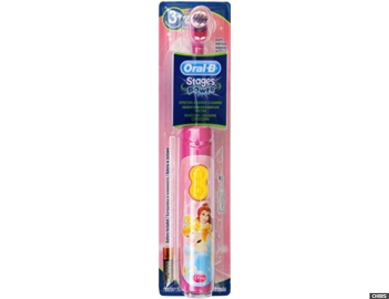 Электрическая зубная щетка Oral B Braun Stages Power принцесса (DB3010)