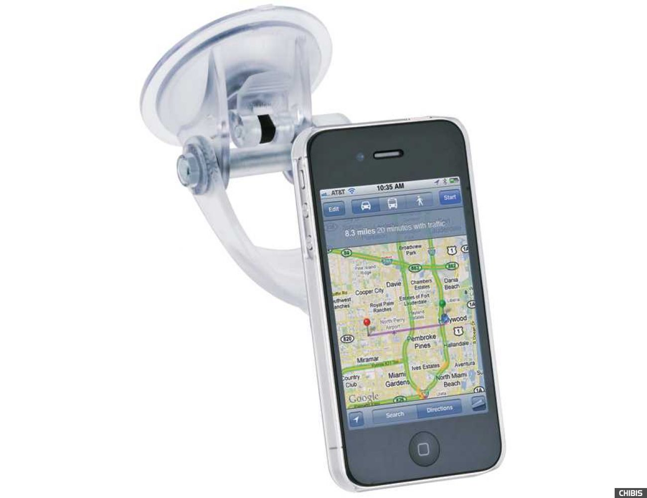 Автодержатель iGrip Clear Case Traveler iPhone 4 (T5-300183)