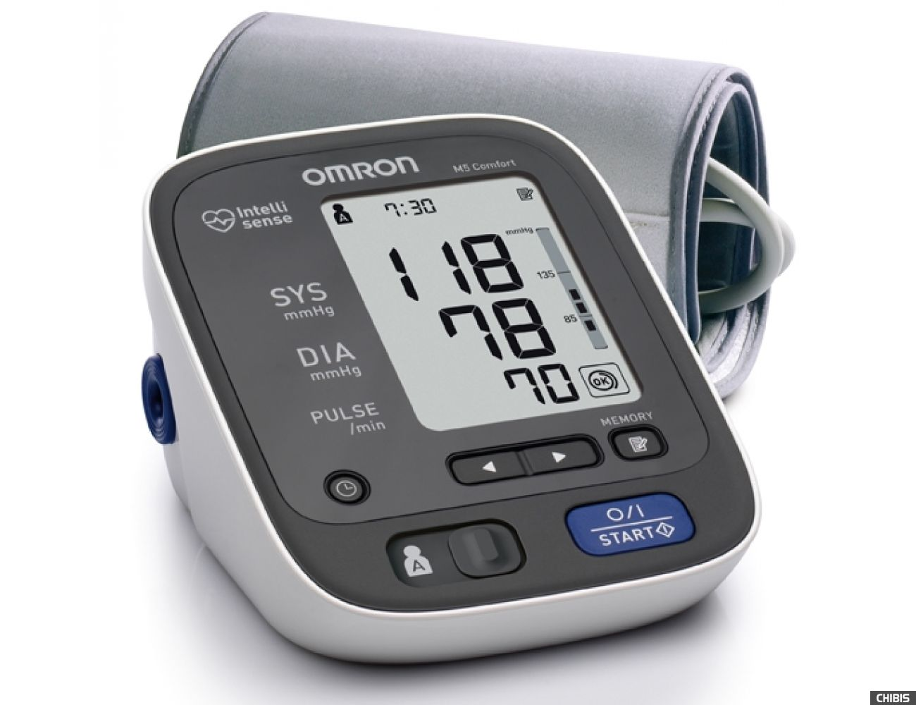 Тонометр Omron M5 Comfort HR