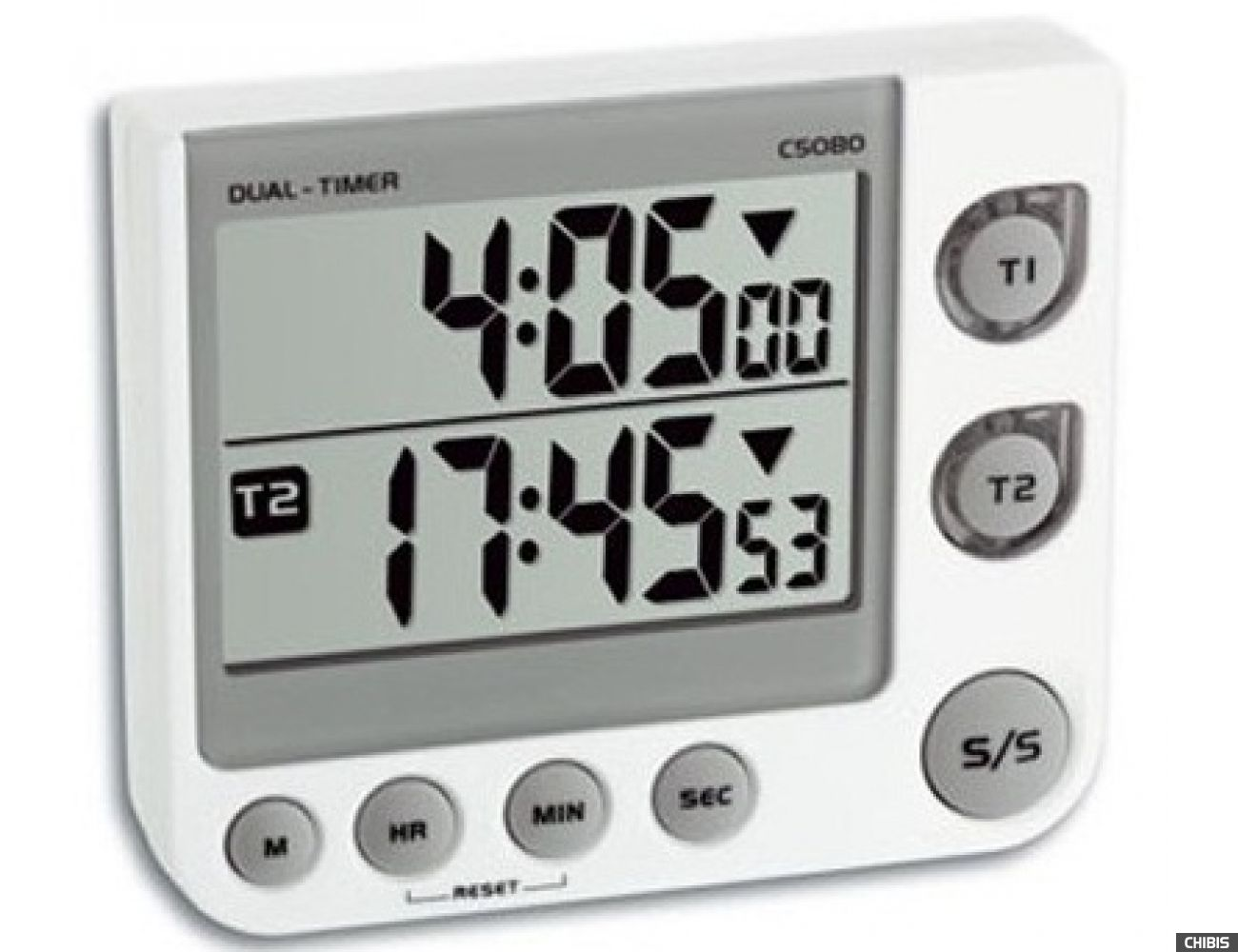 Кухонный таймер цифровой TFA (382025) с секундомером