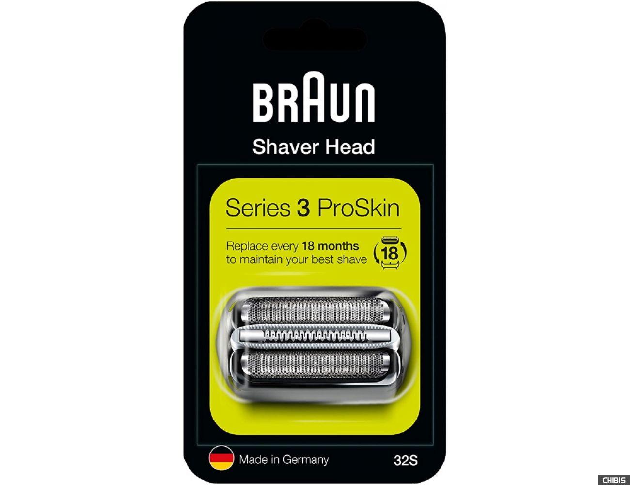 етка Braun 32S в блистерной упаковке