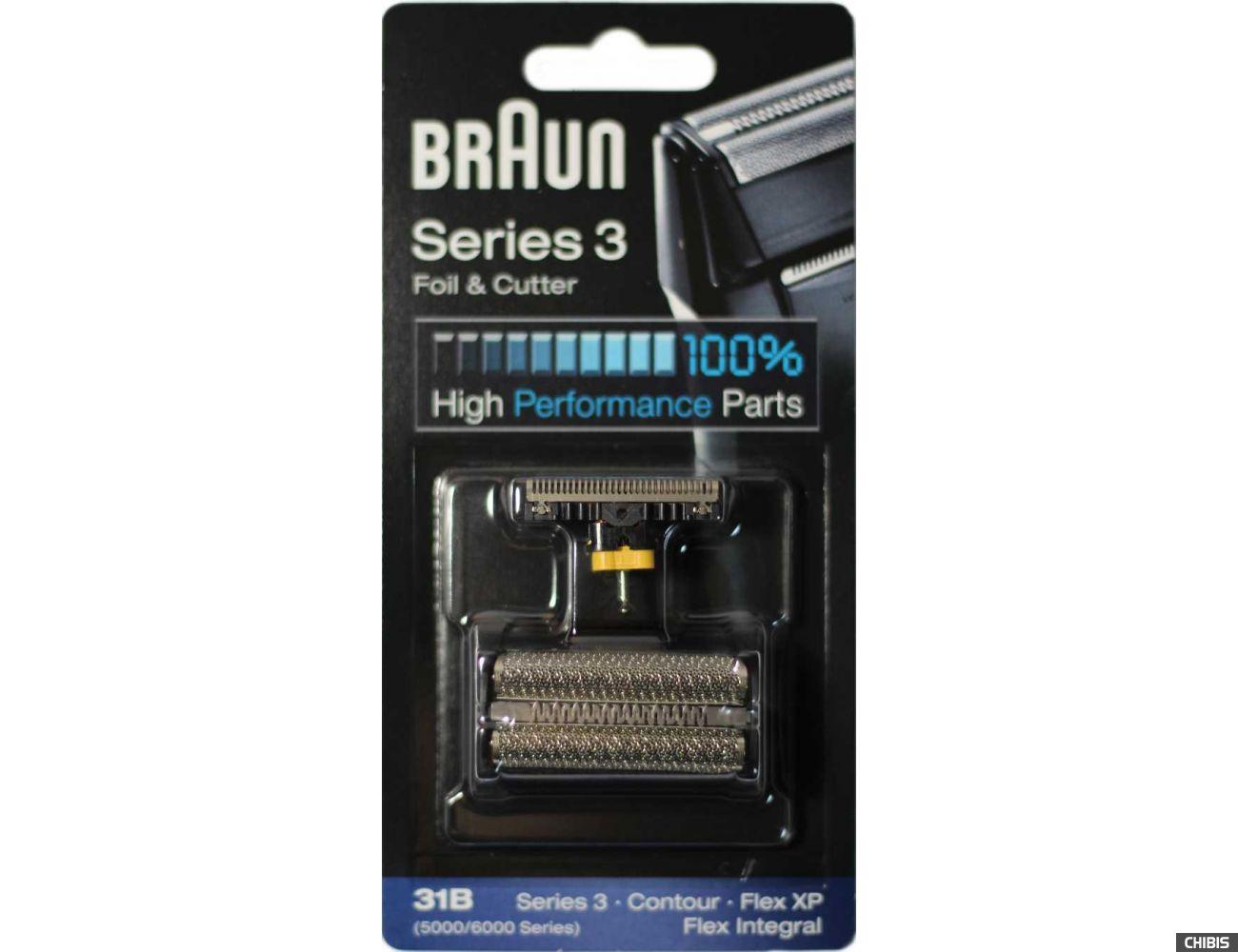 Сетка Braun 31B набор сетка + нож оригинал Германия