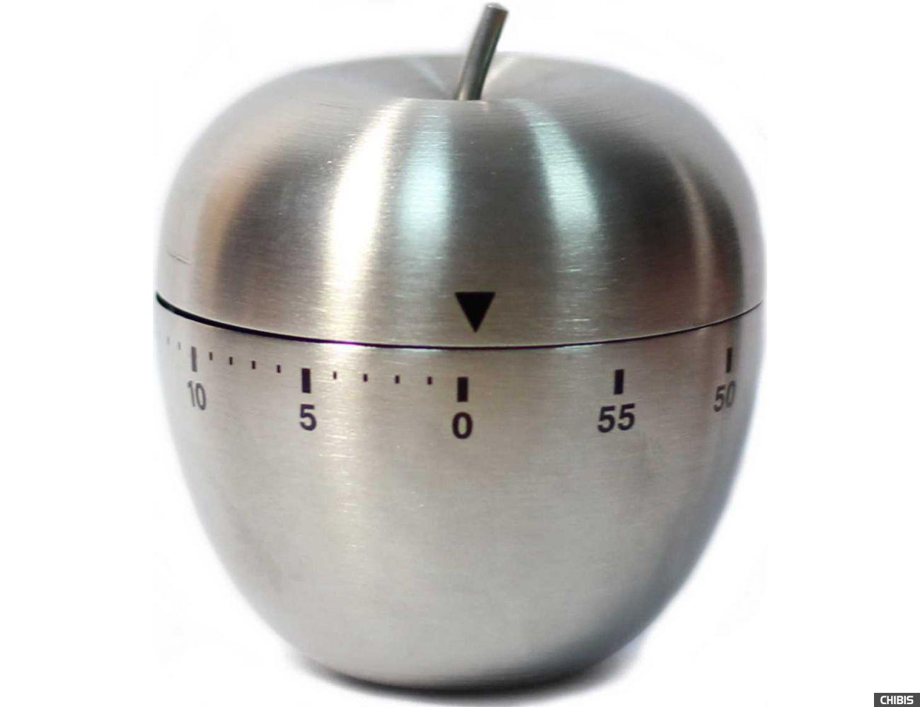 Кухонный таймер TFA Яблоко 38103054 металл