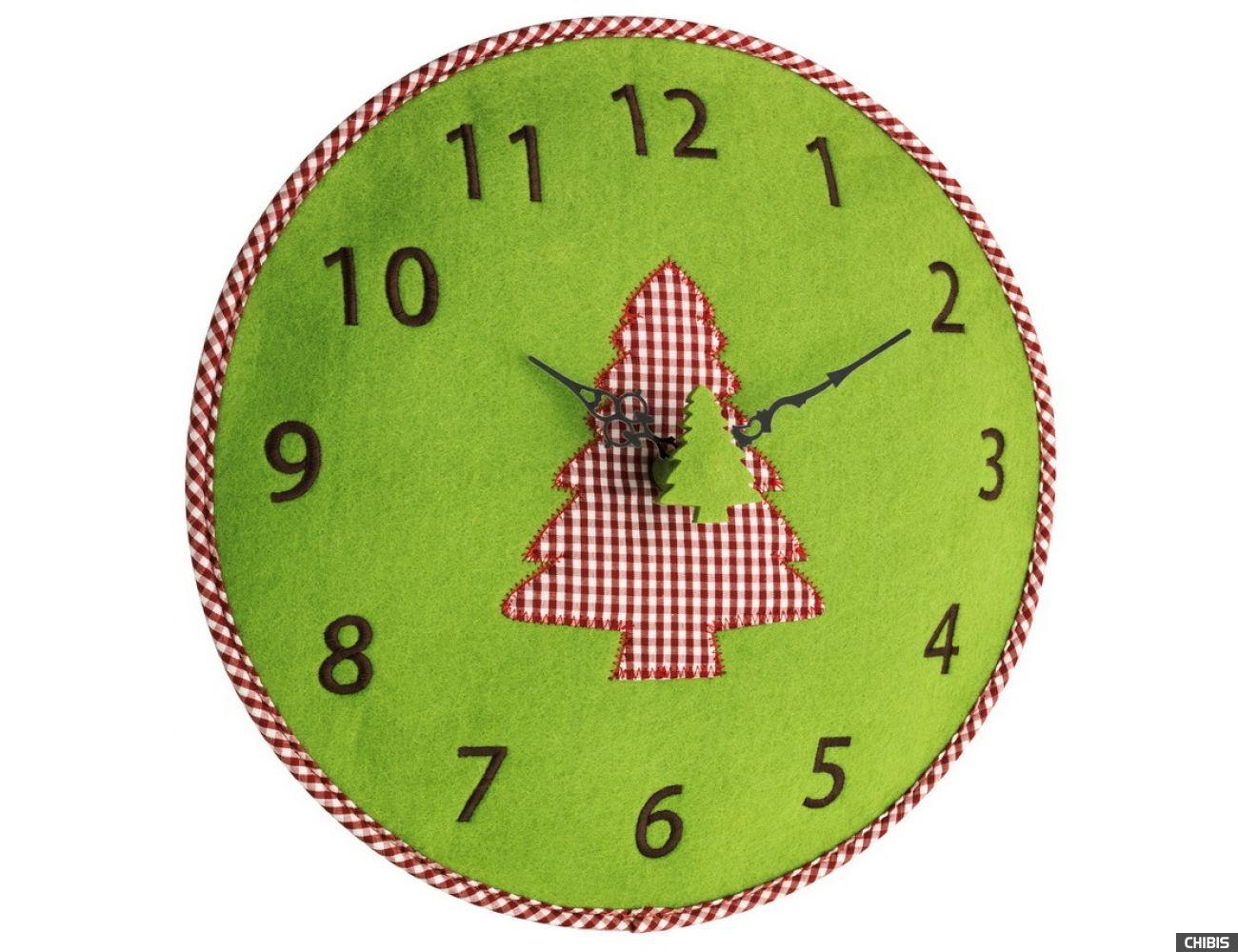 Часы настенные TFA 60302504 зелёный