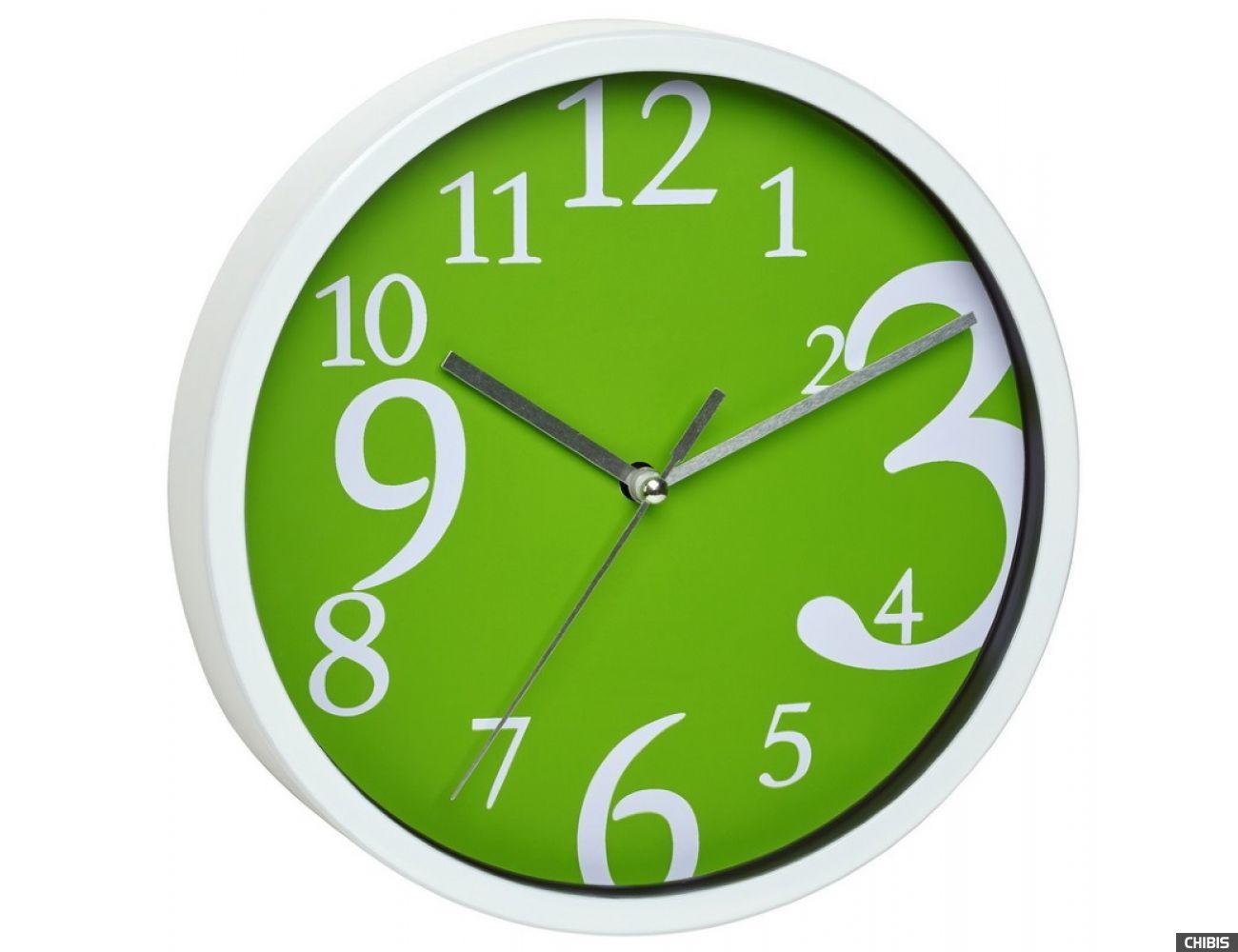 Часы настенные TFA 60303404 зеленые
