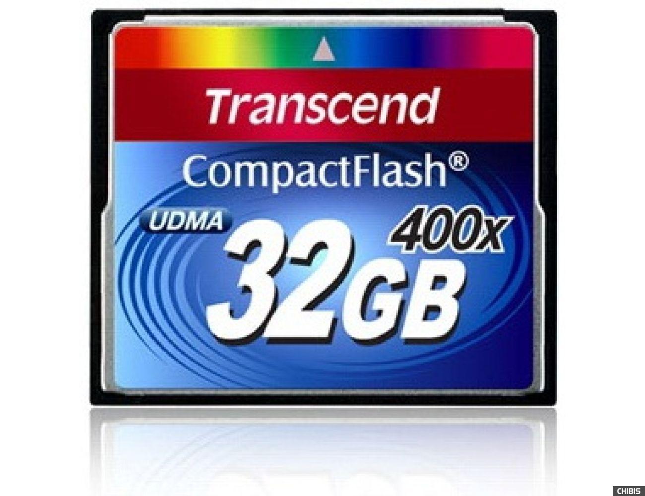 Карта памяти Transcend Compact Flash 400x 32Gb