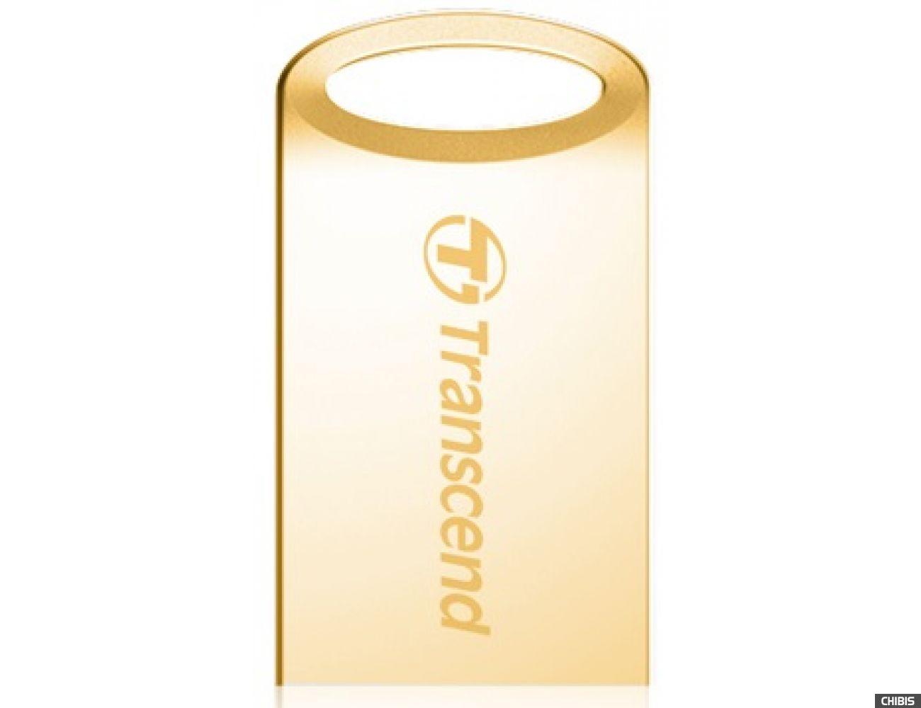 Флеш накопитель USB TRANSCEND JetFlash 510 32GB Gold
