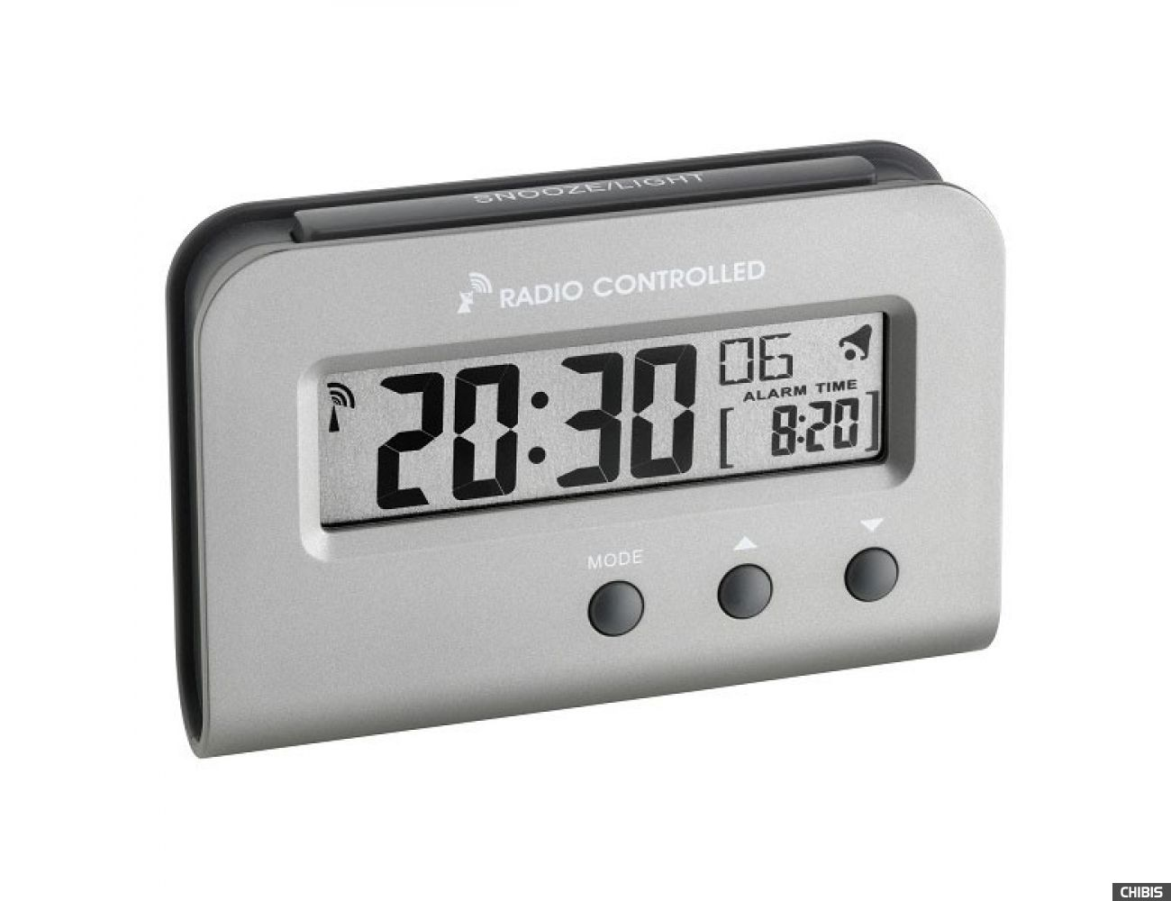 Настольные часы TFA (60251354) металлик