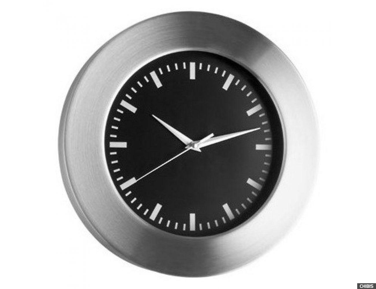 Часы настенные TFA (98104801) чёрный циферблат