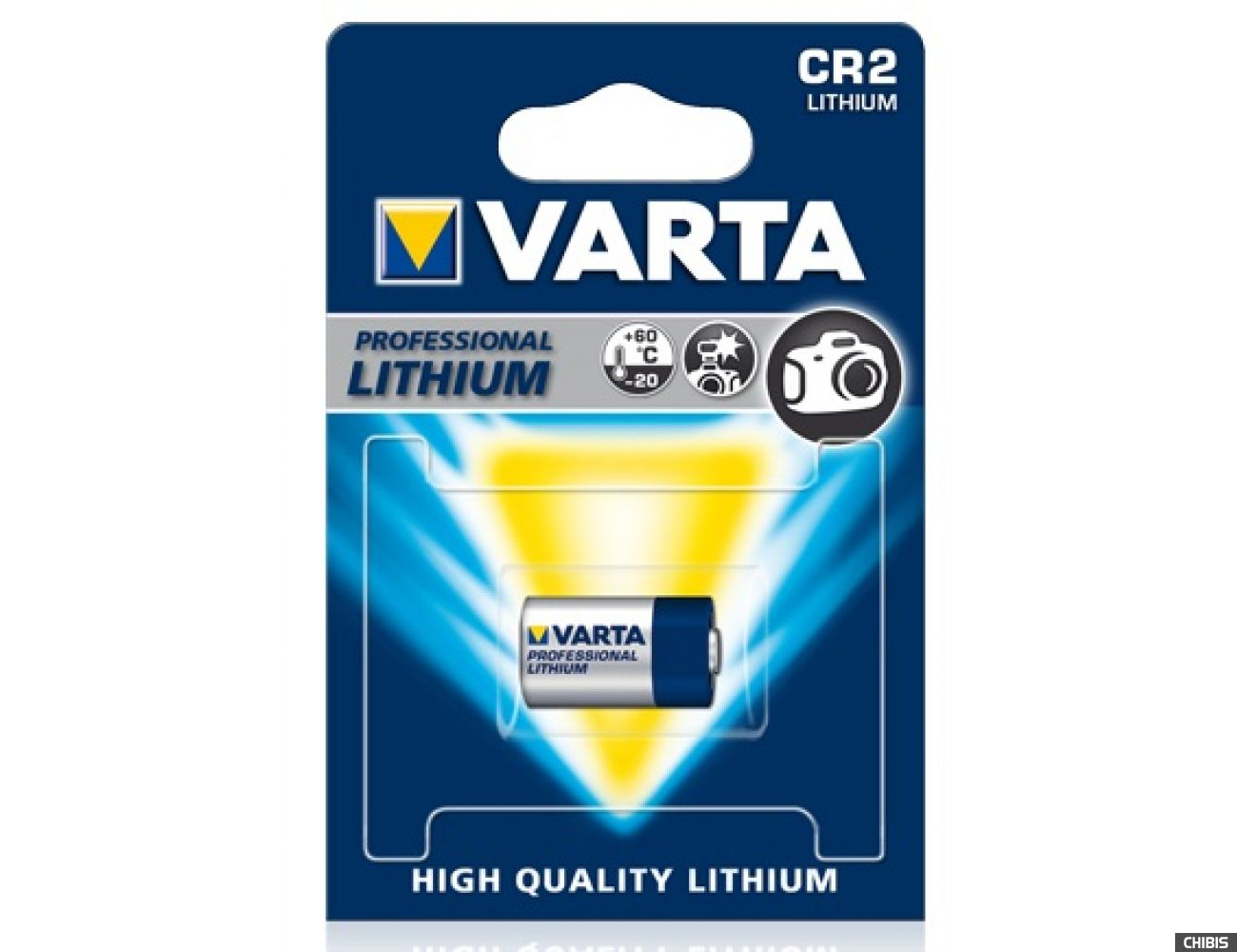 Батарейка Varta CR2 Photo Professional (CR2, 920mAh, 3V, Литиевая) 06206301401
