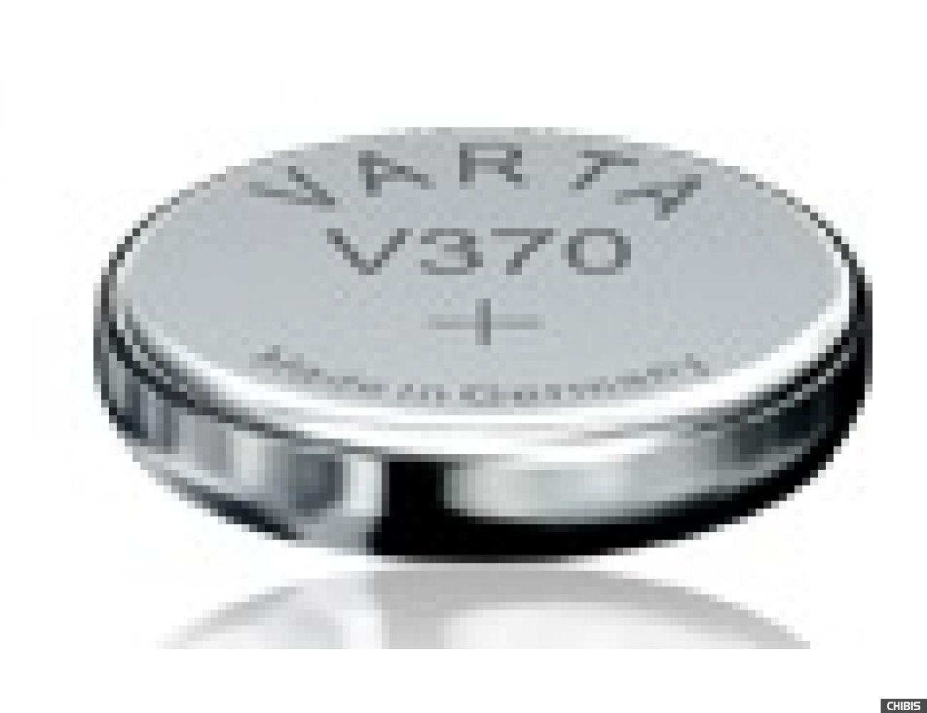 Батарейка Varta V370 (SR69, 30mAh, 1.55V, Оксид Серебра) 00370101111