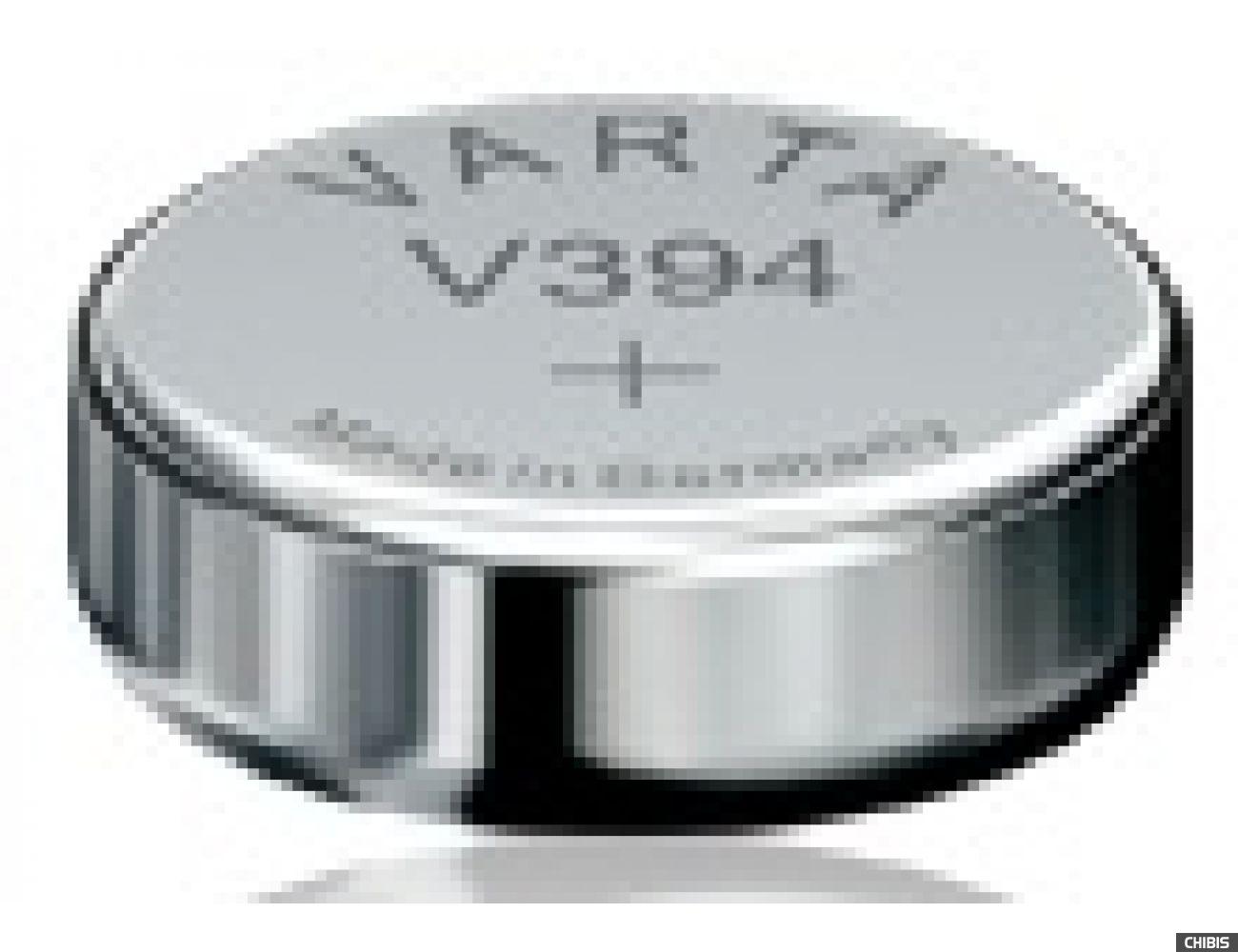 Батарейка Varta V394 (SR45, 67mAh, 1.55V, Оксид Серебра) 00394101111