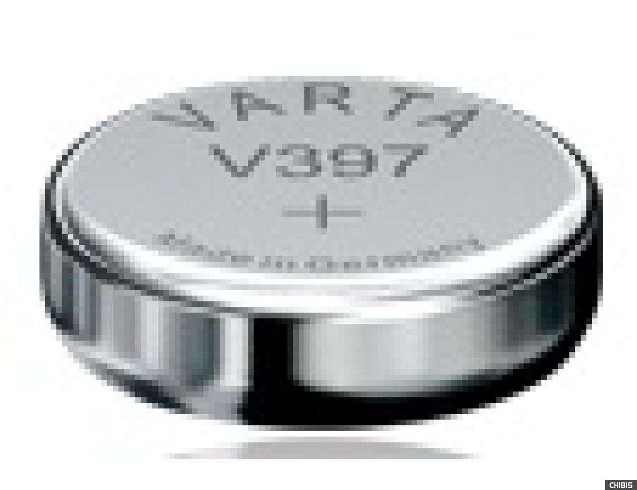 Батарейка Varta V397 (SR59, 30mAh, 1.55, Оксид Серебра) 00397101111