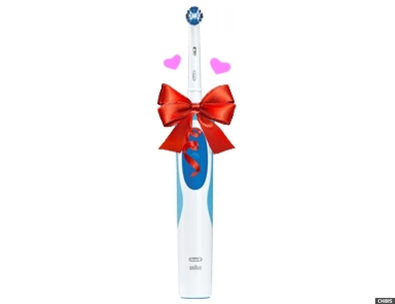 Электрическая зубная щетка Oral B Braun Vitality Precision Clean (D12.513) + паста 75 мл.