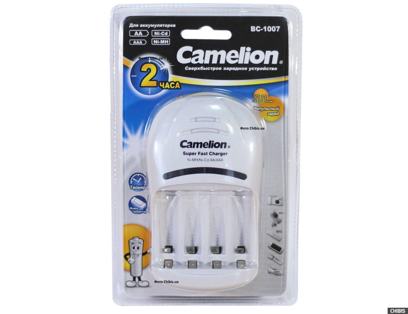 Зарядное устройство АА ААА Camelion BC-1007