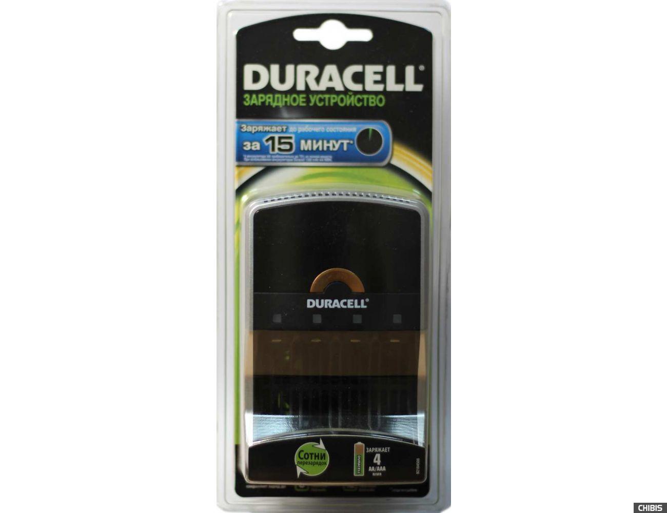 Зарядное устройство АА и ААА Duracell CEF15