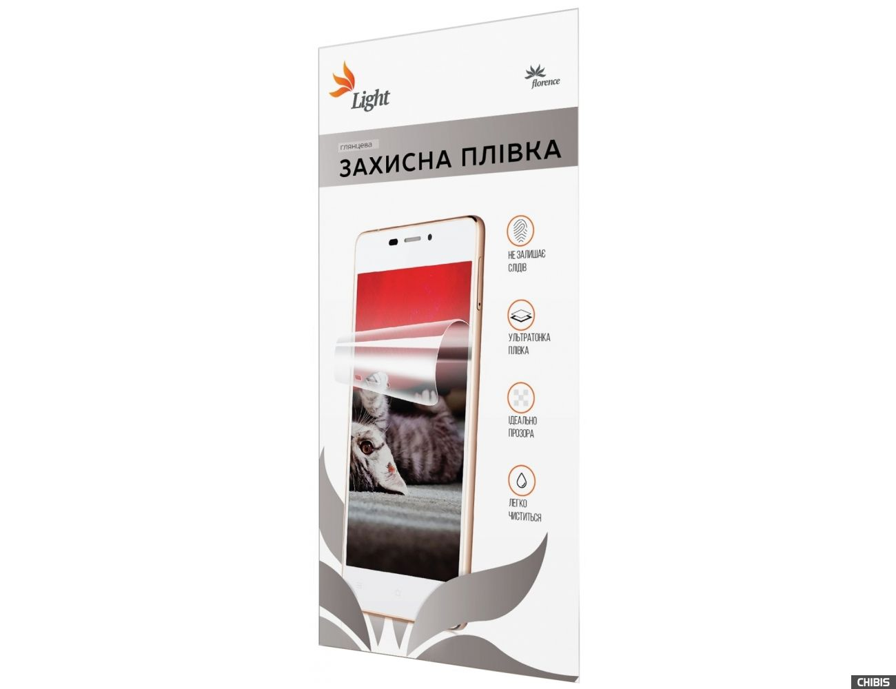 """Защитная пленка Florence LIGHT универсальная для смартфонов 5"""" сетка"""