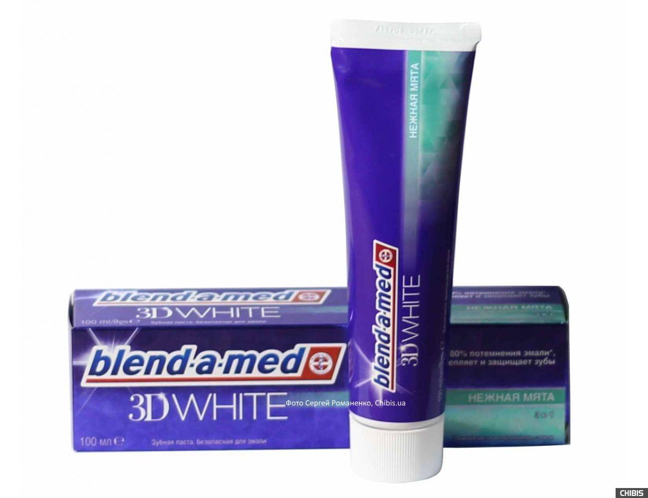 Зубная паста Blend-a-med 3D White Нежная мята 100 мл