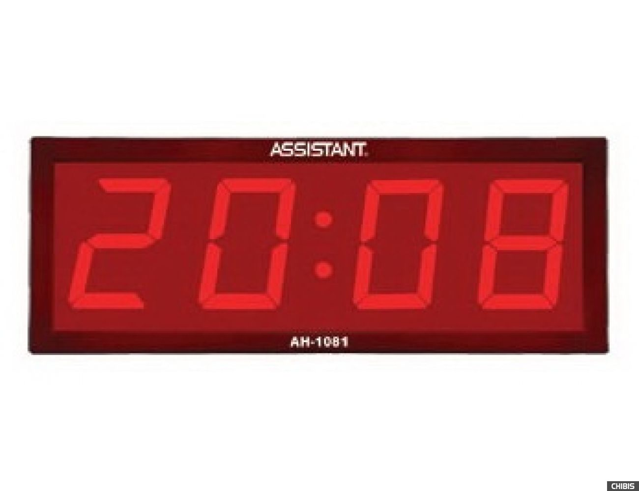 Сетевые часы Assistant AH-1081 wood