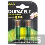 Аккумуляторные батарейки АА Duracell 1300 mAh R6, Ni-Mh, 1.2V 2 шт. 5000394039186