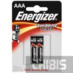 Батарейка ААА Energizer Alkaline Power LR03 1.5V 1/2 шт.