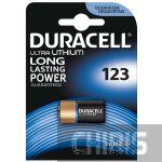 Батарейка Duracell 123A Ultra  3V (5000394123106)