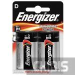Батарейка LR20 Energizer D Alkaline Power 1/2 шт.
