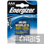 Батарейки Energizer Ultimate Lithium AAA 1.5V 2 шт