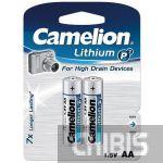 Батарейка АА Camelion Lithium FR6 1.5V 1/2 шт.