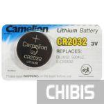 Батарейка 2032 Camelion 3 V Литиевая 1/5 шт.