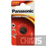 Батарейка CR1632 Panasonic 3V Литиевая