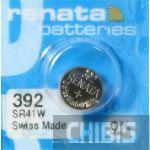 Батарейка для часов Renata SR41W (392) 1.55V Silver 1/10 шт