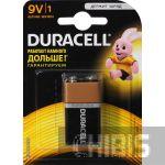 Батарейка Крона Duracell Basic 6LR61 9V Alkaline 1 шт.
