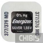 Батарейка 377-376 Energizer 1.55V Silver Oxide 1 шт.